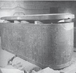 Катакомбы и саркофаг